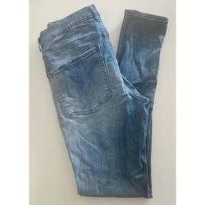 Express High Rise Skinny Jeans